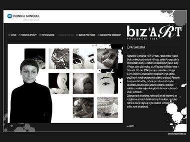 Konica Minolta Website Design