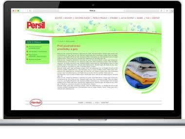 Henkel Persil Site Design