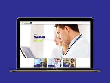 Ecommerce website for medical innovations