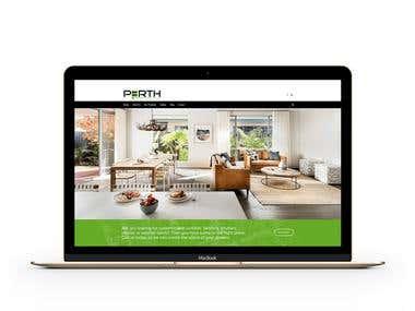 Interior decorator website