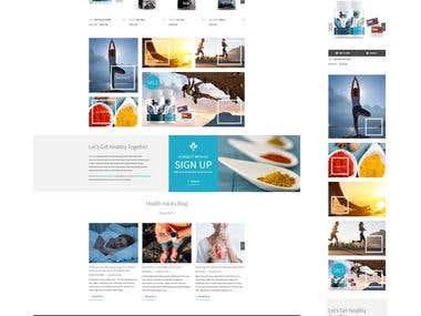 Wordpress / Woocommerce shop