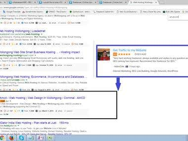 Top First Page Ranking in Australia Searching