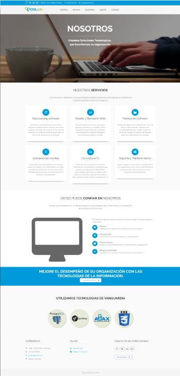 Página Web Empresa - ColWit -  Wepage company