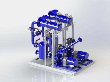 Double pumping system