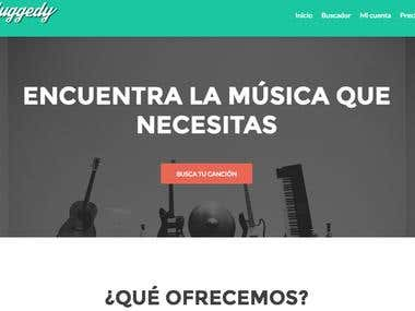 Unpluggedy - Wordpress Music Store