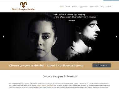 Divorcelawyersinmumbai.com Website