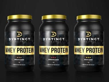 Supplements Packaging Design