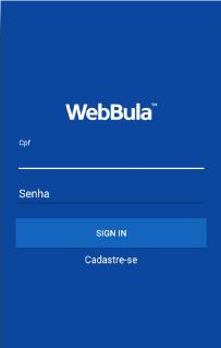 Aplicación Móvil Android - WeBula Doc. - Mobile App Android