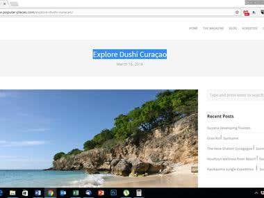Explore Dushi Curaçao