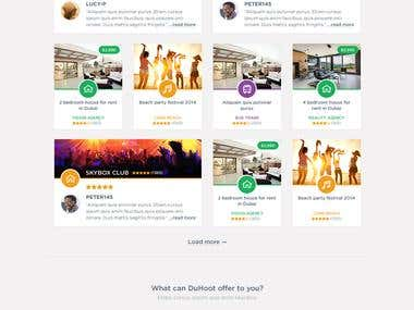 eCommerce WordPress template