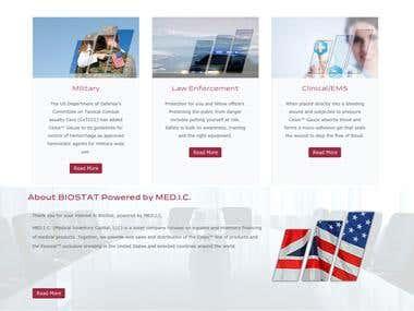 Biostatmedics - Medical website