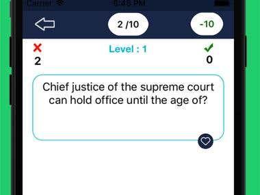 Quiz Power - iPhone