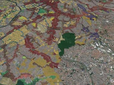Convert shapefile to .kmz for Google Earth