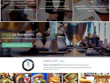 Ompty - Food & Restaurant