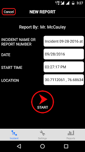 The Cop App for Android Platform