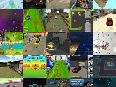 Various Mobile & Web Games