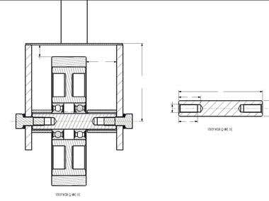 Manufacturing Drawing for Assembly