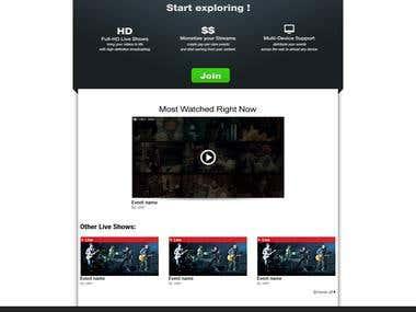 Website Designs Mockup