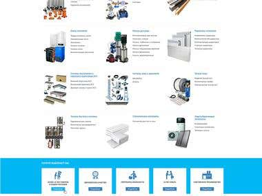 """Web design & E-comm """"INDUSTRIAL HEATING SYST"""""""