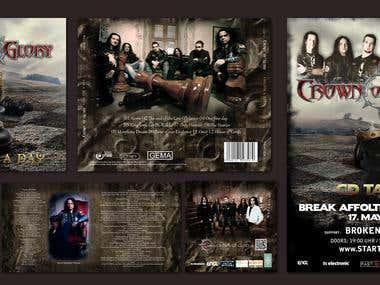 CD album + booklet and poster