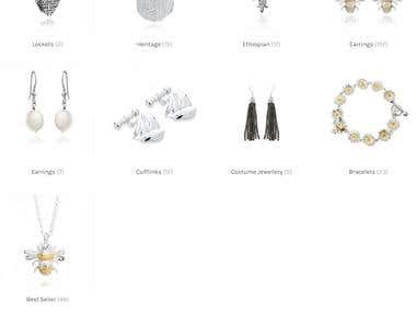 Martick Jewellery - e-commerce Website