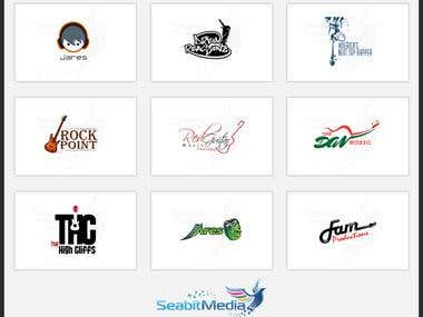 Music Logo Design - Seabit Media