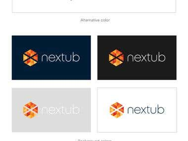Brand Identity design for NEXTUB