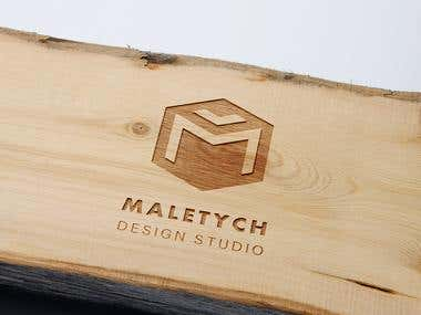Logo for Interior design studio, Lviv