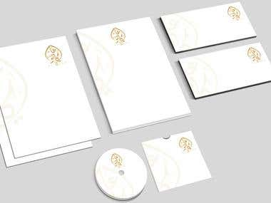 ARABIC / Bi-LINGUAL STATIONERY DESIGN