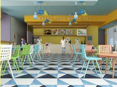 Children restaurant Freelance project