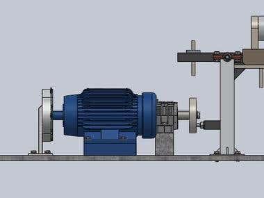 Tribometer machine