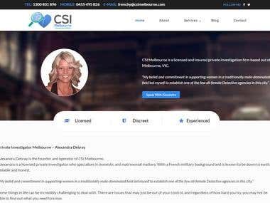 Csimelbourne.com Website
