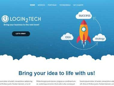 Login2Tech Website