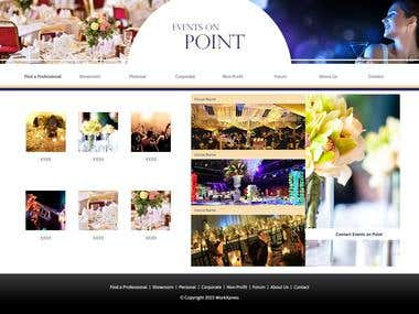 Event Management / Booking Tool