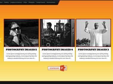 A Portfolio Website