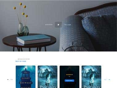 Prose - E-Book Landing Page