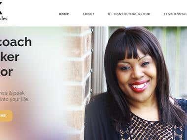 Website for Joyce M., Texas, USA