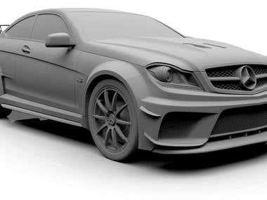 Mercedes C63 AMG