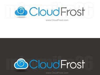 CloudFrost Logo Design