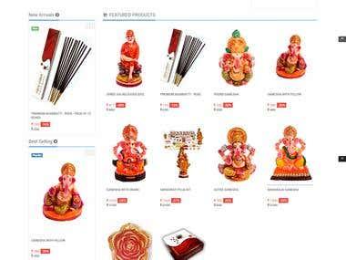 E-Commerce Shopping Site
