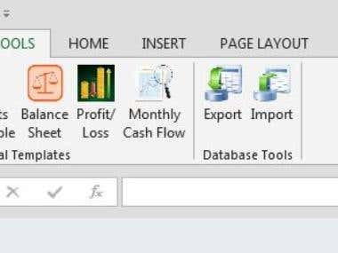 Custom Ribbon Tab for Excel