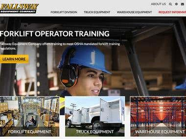 Forklift & Truck Equipment SEO Case Study