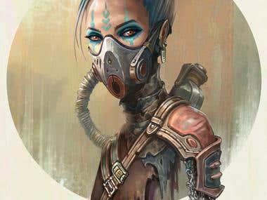 post apocalyptic girl IV