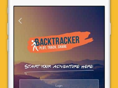 BackTracker App for Iphone App