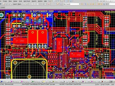 Embedded systems design, PCB design