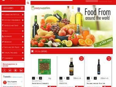 Eazy Supplies website