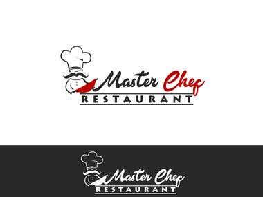Master Chef Concept Logo Design