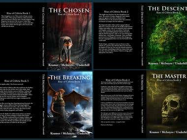 Book covers for series