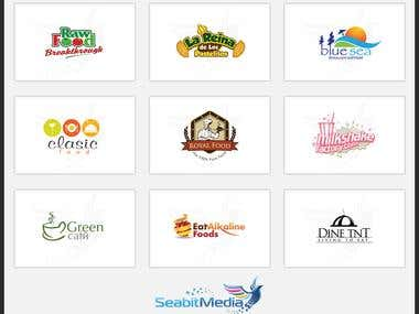 Hotel and Restaurant Logo Design - Seabit Media