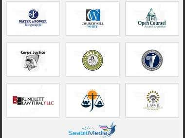 Legal Logo Design - Seabit Media